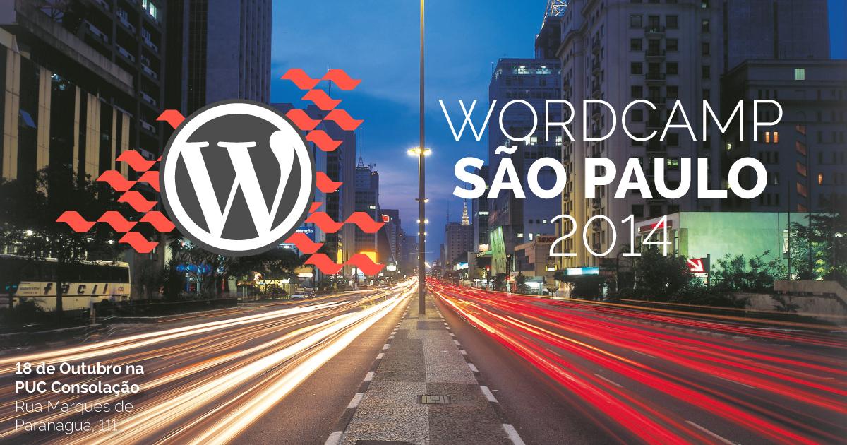 WordCamp São Paulo 2014 - Dia 18 de Outubro na PUC Consolação